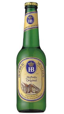 【ドイツビール】ホフブロイ オリジナル 330ml 6本