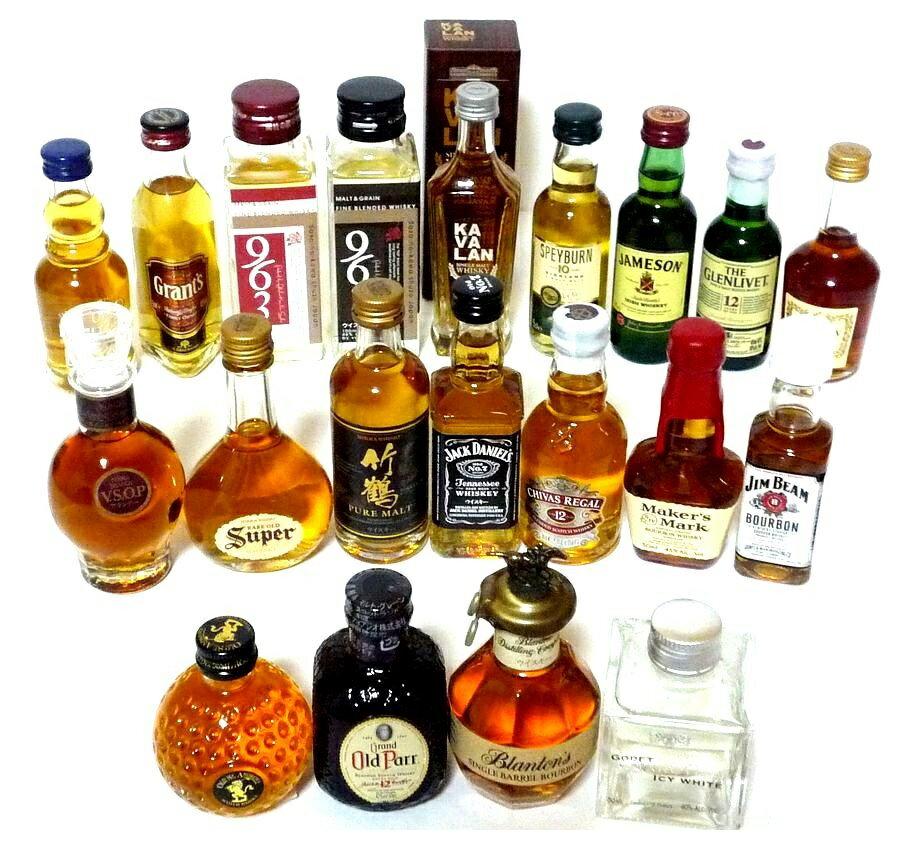 ミニチュアボトル20種 50ml