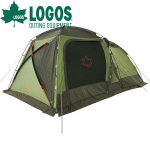ロゴス LOGOS テント neos PANELスクリーンドゥーブル XL-BJ テント タープ タープテント 大型 前室 UVカット 遮光 高耐水加工 換気 ペグ 収納バッグ付き 日よけ スクリーンタープ インナーテント 6