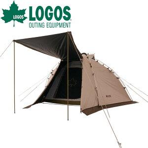 ロゴス LOGOS トラッドソーラー ジオデシックドーム-BA テント ファミリー タープテント タープ インナーテント 耐水圧 3000mm UVカット 遮光 100% 4人用 キャンプ アウトドア キャンプ用品 アウ