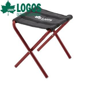 ロゴス LOGOS 7075ポケットスツール レッド スツール 椅子 おしゃれ 折りたたみ椅子 キャンプ チェア 折りたたみ チェアー コンパクト 軽量 軽い レジャー イス アウトドア キャンプ用品