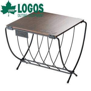 ロゴス LOGOS ワイド薪ラックウッドテーブル ミニテーブル コンパクトテーブル レジャーテーブル 簡易テーブル 折りたたみ 折り畳み コンパクト 軽量 キャンプ アウトドア レジャー キャンプ