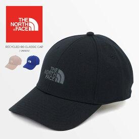 ノースフェイス RECYCLED 66 CLASSIC CAP クラシック テック キャップ 帽子 ロゴ メンズ レディース ユニセックス スポーツ アウトドア ワークキャップ ゴルフ 紫外線対策 UVケア 日焼け防止 THE NORTH FACE NF0A4VSV JK3 送料無料