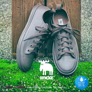 MOZ レインシューズ メンズ スニーカー ローカット 防水 レインスニーカー モズ メンズ おしゃれ 履きやすい 歩きやすい 通勤 通学 蒸れにくい 雨靴 メンズ シンプル 男性用 小さいサイズ 大