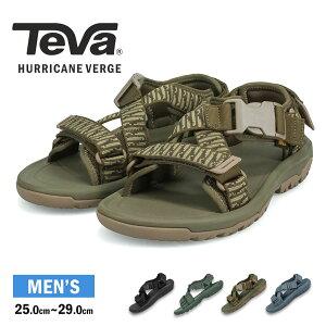 TEVA テバ ハリケーン バージ Hurricane Verge サンダル メンズ ストラップ スポーツサンダル アウトドア キャンプ 黒 ブラック グレー グリーン スポサン 軽量 リゾート 歩きやすい ぺたんこ フラ