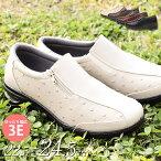 ゆったり幅広【3E】コンフォートシューズレディース/ミセス/シニア/50代・60代・70代/靴/スニーカー