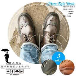 比賽提高雷恩長筒靴人短人氣漂亮的高筒靴翅膀小費雨鞋商務防水雪地靴人防滑橡膠長筒靴人戶外商務鞋雪道黑色gb-3144