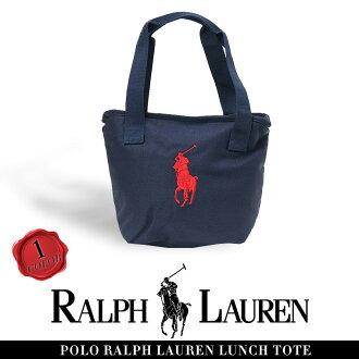 POLO RALPH LAUREN大手提包CLASSIC PONY LUNCH TOTE kurashikkuponiranchitoto人气午餐包高中生女子喜爱的男子的女子的玩笑可爱的午餐包拉链人大手提包