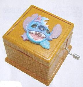 Disney木製型手廻しオルゴールボックス【スティッチ】【オルゴール ディズニー】