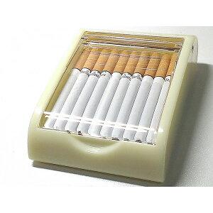 卓上型シガレットケース アクリル×ベージュ タバコケース たばこケース 葉巻 小物入れ インテリアに 手巻きタバコにも!!