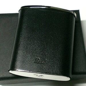 携帯灰皿 革 おしゃれ タスカ ブラック レザー 日本製 PEARL 牛本革 黒 国産 ブランド メンズ レディース プレゼント かっこいい 屋外 ギフト