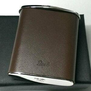 携帯灰皿 おしゃれ タスカ ブラウン レザー 日本製 PEARL 牛本革 茶 国産 ブランド メンズ レディース プレゼント かっこいい 屋外 ギフト