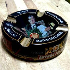 シガー灰皿 ARTURO FUENTE アルトゥーロ・フエンテ 葉巻専用 ブラック ハンドメイド おしゃれ インテリア タバコ 雑貨 喫煙具 高級 動画あり プレゼント ギフト メンズ