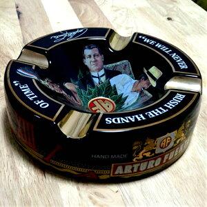 シガー灰皿 ARTURO FUENTE アルトゥーロ・フエンテ 葉巻専用 ブラック ハンドメイド おしゃれ インテリア タバコ 雑貨 喫煙具 高級 動画あり プレゼント ギフト 父の日 メンズ