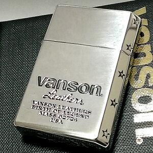 オイルライター バンソン×ギアトップ 日本製 ライター ブランド シルバーイブシ ロゴデザイン 重厚 かっこいい おしゃれ GEAR TOP×VANSON 国産品 メンズ ギフト