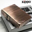 ZIPPO 1935 ジッポ ライター 1935年復刻レプリカ カッパー 銅古美 3面アラベスク ダイアゴナルライン 唐草 彫刻 アンティーク 角型 3バレル かっこいい 人気 ギフト プレゼント
