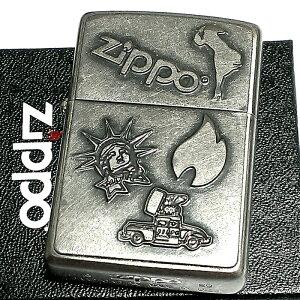 ZIPPO ライター ユーズドフィニッシュ ウィンディ ジッポカー ヴィンテージ仕上げ 可愛い メンズ かっこいい レディース 女性 プレゼント ギフト 動画あり