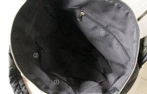 【新柄:スター登場】バッグレディーストートキルティングナイロンバッグ【Lugoルーゴ】/迷彩ブラックHAYNIヘイニ/帰省、旅行/