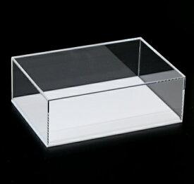アクリルケース(長方形) 板厚(3ミリ)(外寸)幅(420ミリ)奥行(300ミリ)高さ(100ミリ)台座有り