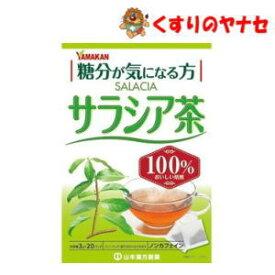 山本漢方 サラシア茶100% 3g×20包
