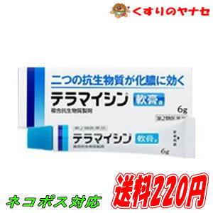 【ネコポス対応】テラマイシン軟膏a 6g/【第2類医薬品】