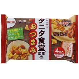 タニタ食堂監修のおつまみ 【4袋入×12個】(栗山米菓)【お菓子】