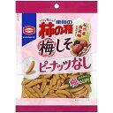 亀田の柿の種 梅しそ100% 【105g×12個】(亀田製菓)【お菓子】