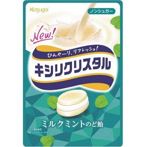 キシリクリスタル ミルクミントのど飴 【73g×6個】(春日井製菓)【お菓子】