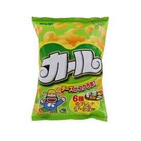 (西日本限定品) 明治 カールチーズあじ 【64g×10袋】(明治)【お菓子】