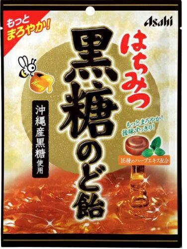 はちみつ黒糖のど飴【120g】(アサヒフードアンドヘルスケア)