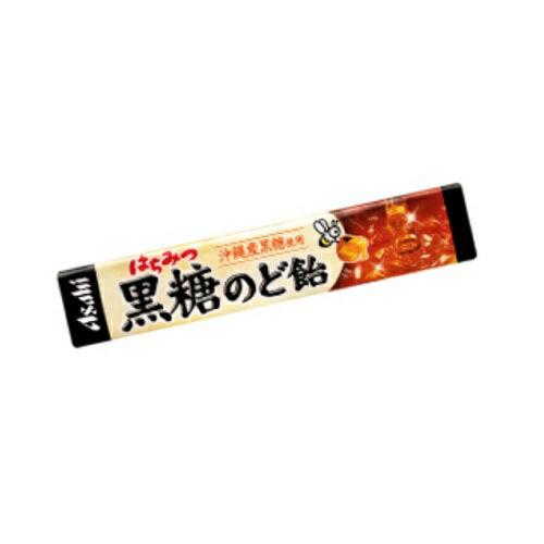 はちみつ黒糖のど飴 【10粒×10個セット】(アサヒグループ食品)