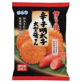 辛子明太子大型揚げせん 【6枚入×12個】(ぼんち)