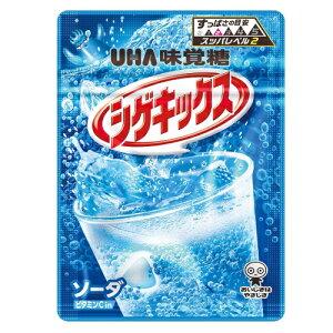 シゲキックス ソーダ 【20g×10個セット】(UHA味覚糖)
