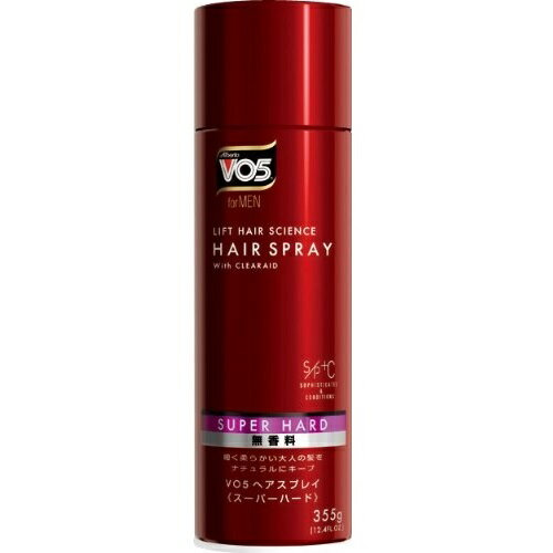 サンスター VO5 for MEN ヘアスプレー スーパーハード 無香料 355g【MEN'S】