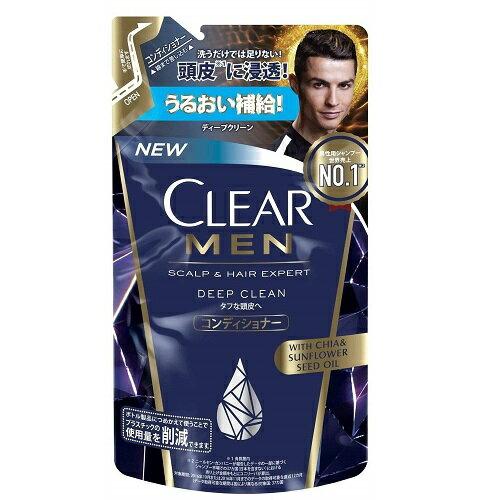(取り寄せ商品納期1〜2週間)CLEAR(クリア) フォーメン ディープクリーン コンディショナー つめかえ用 【280g】(ユニリーバ)【MEN'S】