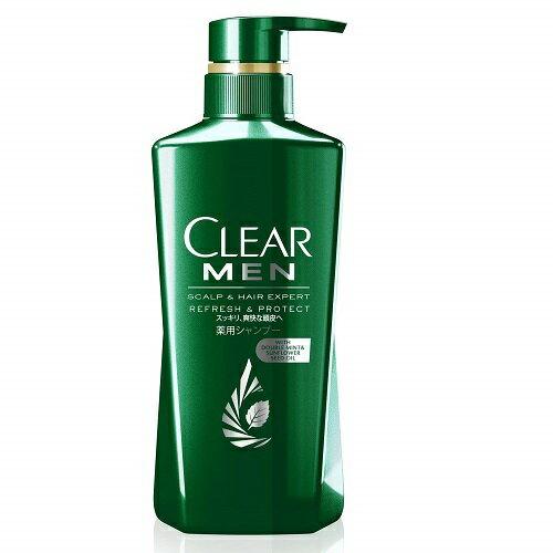 (取り寄せ商品納期1〜2週間)CLEAR(クリア) フォーメン リフレッシュ&プロテクト 薬用シャンプー ポンプ 【350g】(ユニリーバ)【MEN'S】