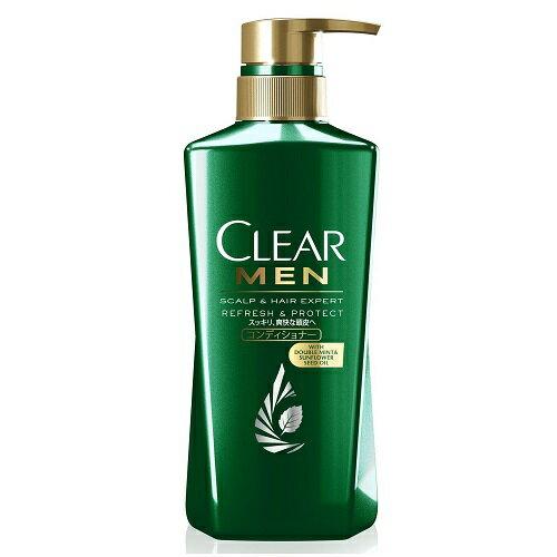 (取り寄せ商品納期1〜2週間)CLEAR(クリア) フォーメン リフレッシュ&プロテクト コンディショナー ポンプ 【350g】(ユニリーバ)【MEN'S】
