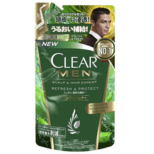 (取り寄せ商品納期1〜2週間)CLEAR(クリア) フォーメン リフレッシュ&プロテクト コンディショナー つめかえ用 【280g】(ユニリーバ)【MEN'S】