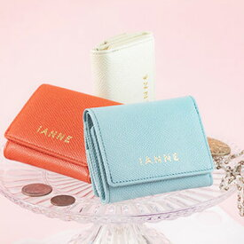 【IANNE】マカロンみたいな手のひらサイズのミニ財布・プチウォレット MACARON(マカロン)