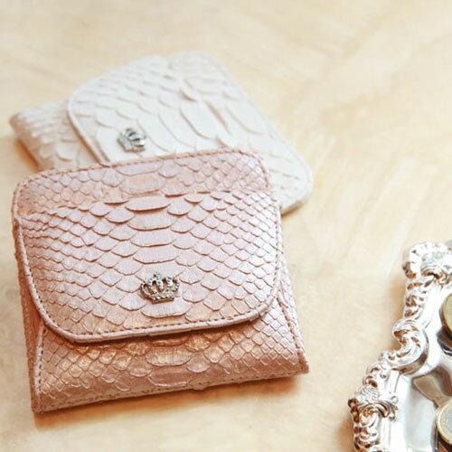 【傳濱野】皇室御用達 ワンタッチで全て取り出せる極小財布Pollet(ポレット)