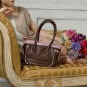 【FRUTTI】絵画のようなレザーで仕立てるリボンのハンドバッグCosette Alice(コゼット アリス)