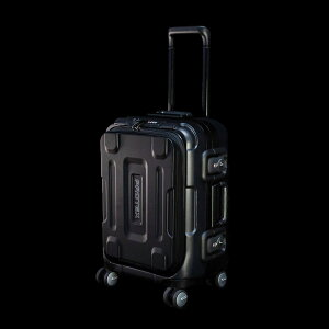 【PROTEX】機内持ち込み対応スーツケース 頑丈 FPZ-07 容量約28Lの精密機器輸送・フロントオープン型4輪トラベルキャリー【12月11日頃出荷】 364-1301