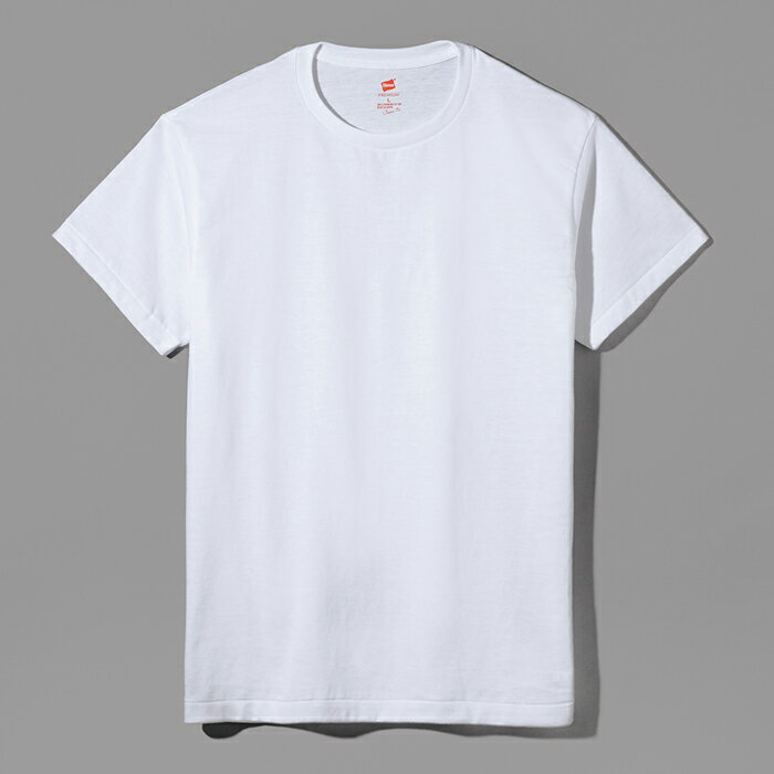 日本製 MADE IN JAPAN ヘインズ Tシャツ Hanes 公式ストア◆Hanes ヘインズ プレミアムジャパンフィット クルーネックTシャツ PREMIUM Japan Fit(HM1-F001)
