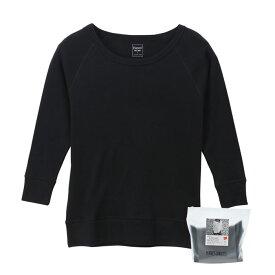 【公式】ヘインズ Hanes ウィメンズ スエードニット Warm Tシャツ 19FW【秋冬新作】 Hanes Undies ヘインズ(HW4-Q511)
