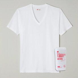 【公式】ヘインズ Hanes【50%OFF】ジャパンフィット 2枚組 Vネック Tシャツ Japan Fit 下着 インナー (H5115)★☆セール品のため商品不備以外 返品交換不可