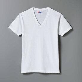 【公式】ヘインズ【30%OFF】Hanes ジャパンフィット ブルーパック【2枚組】VネックTシャツ Japan Fit (H5215)★セール品は商品不備以外 返品交換不可