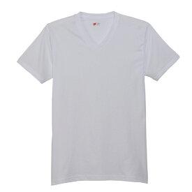【公式】ヘインズ Hanes Tシャツ Hanes 下着 トップス3P- Tシャツ(3枚組み)Vネック BLUE PACK(HM2125G)
