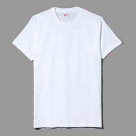 【公式】ヘインズ Hanes Tシャツコットン 100% (綿100%) Hanes 下着 トップス3P- Tシャツ(3枚組み)RED PACK レッドパック(HM2135G)