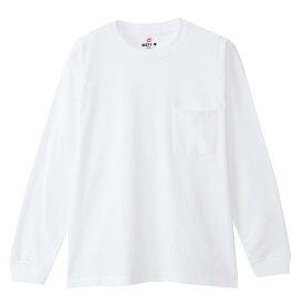 【公式】ヘインズ Hanes ビーフィーポケットロングスリーブTシャツ 20FW【秋冬新作】 BEEFY-T(H5196)