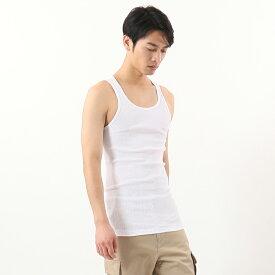 【公式】ヘインズ Hanes 【2枚組】Aシャツ 21SS【春夏新作】 タンクトップ (HM2-K701)